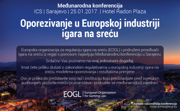 ICS Sarajevo Pozivnica